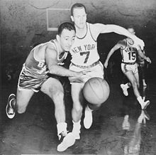 Basketball Photos - Boston Celtics - Bob Cousy (left)
