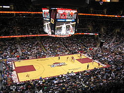 Basketball Photos - Cleveland Cavaliers - Cleveland Cavaliers versus Chicago Bulls in the Quicken Loans Arena in 2006