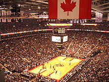 Basketball Photos - Toronto Raptors - A packed ACC in a game against the Milwaukee Bucks on 3 November 2006