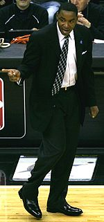 Basketball Photos - Isiah Thomas - Isiah Thomas during his head coaching tenure with the Knicks.